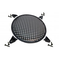 Steel Waffle Grills with Mounting Brackets