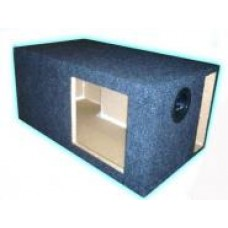 Kicker Square Woofer High Air Volume Vented Box 10